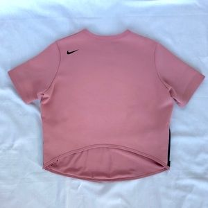 Nike Tops - Mauve Pink Nike Scallop Shirt